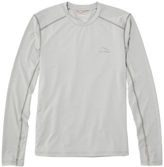 L.L. Bean No Fly Zone Bug Skin Base Layer Top, Long-Sleeve