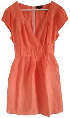 Max & Co. \N Orange Linen Dress for Women