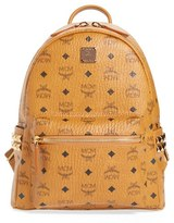 MCM 'Small Stark' Side Stud Backpack - Brown