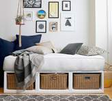 Pottery Barn Daybed with Twill Tufted Cushion
