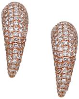 """Tiger Claw"" Diamond Stud Earrings"