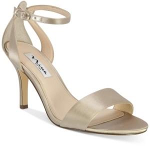 Nina Venetia Ankle-Strap Evening Sandals Women's Shoes