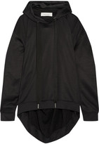 Marques Almeida Marques' Almeida - Oversized Cotton-blend Hooded Top - Black