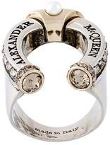 Alexander McQueen horse shoe ring
