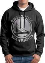 Sarah Men's Golden State Warriors Platinum Logo Hoodie XL