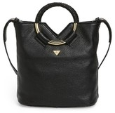 Sam Edelman Small Elina Leather Crossbody Bag - Black