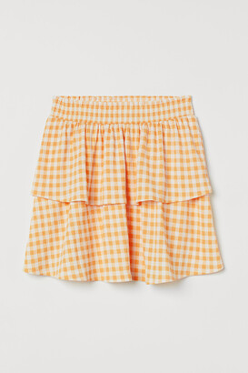 H&M Flounced skirt