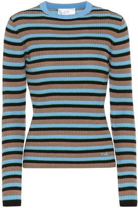 Victoria Victoria Beckham Striped wool sweater