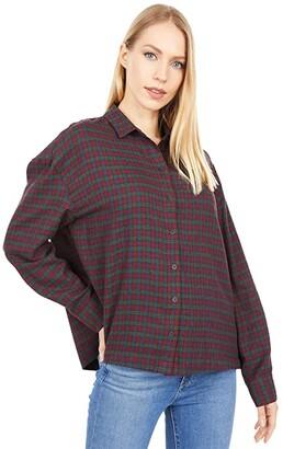 Madewell Westlake Shirt in Pfeiffer Plaid (Slubby Holiday Plaid) Women's Clothing