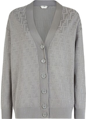 Fendi FF knitted cardigan