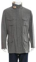Brunello Cucinelli Wool Utility Jacket