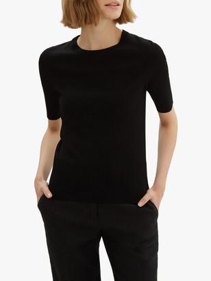 Jaeger Compact Knit T-Shirt