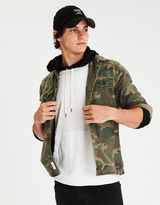 American Eagle Outfitters AE Camo Shirt Jacket