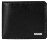 Calvin Klein Rail Logo Slimfold Wallet Black