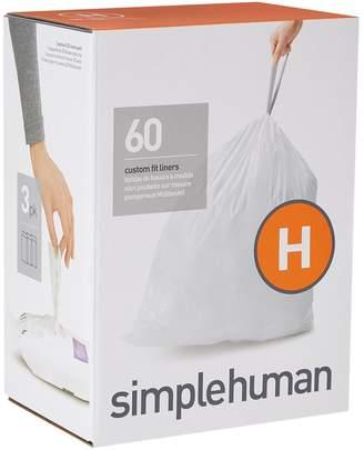 Simplehuman Custom Fit Bin Liners