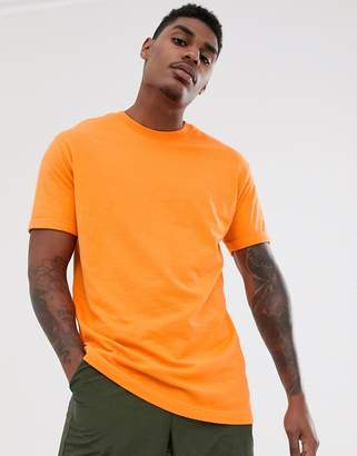Bershka Join Life Organic Cotton loose fit t-shirt in orange