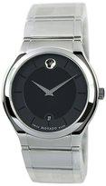 Movado 606478 38mm Silver Steel Bracelet & Case Men's Watch
