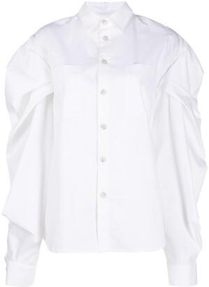 Natasha Zinko Puff Long-Sleeve Shirt