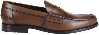 Tod's Tods Brown Leather Penny Loafers