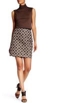 Max Studio Metallic Jacquard Skirt