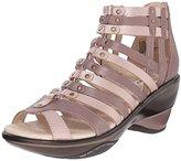 Jambu Women's Sugar Metallic Wedge Sandal