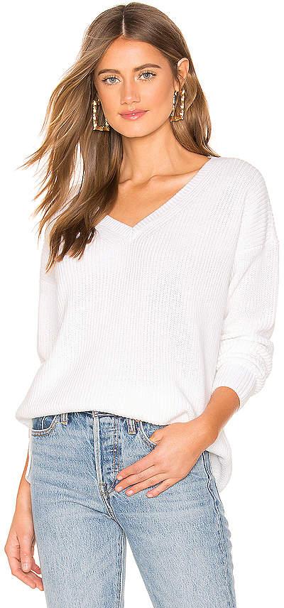 525 America Emma V Neck Sweater
