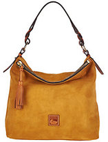 Dooney & Bourke As Is Newbury Suede Sloan Hobo