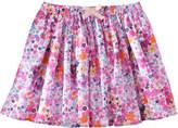 Joe Fresh Kid Girls' Floral Skirt, Pink (Size XL)