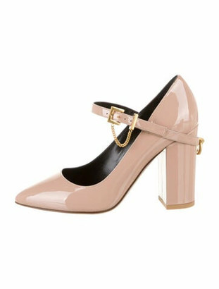 Valentino Patent Leather Pumps Pink