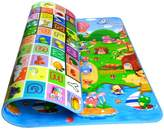 Garwarm 79*71inches Extra Large Baby Crawling Mat Playmat Foam Blanket Rug for In/Out Doors