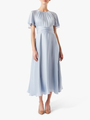 Hobbs Mira Dress, Pale Blue