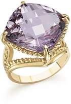 Bloomingdale's Rose Amethyst Statement Ring in 14K Yellow Gold - 100% Exclusive