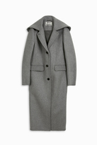 Acne Studios Anela Melton Hooded Coat