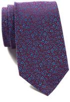 Ben Sherman Silk Ditsy Floral Tie