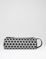 Mi-Pac Honeycomb Pencil Case In Black