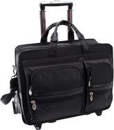 McKlein McKleinUSA Clinton 17 Nylon Detachable -Wheeled Laptop Briefcase