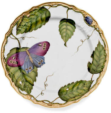 Anna Weatherley Exotic Butterflies Salad Plate