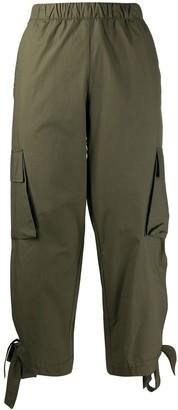 Danielapi Cropped Cargo Trousers