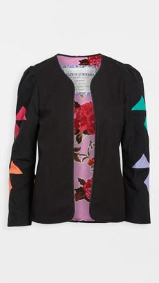 Alix of Bohemia Edie Rainbow Quilt Jacket