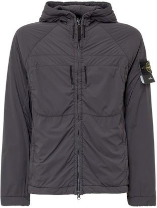 Stone Island Pocket Detail Hooded Jacket