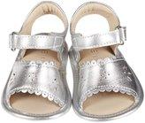 Elephantito Sandal w/Scallop (Infant) - Silver-1 Infant