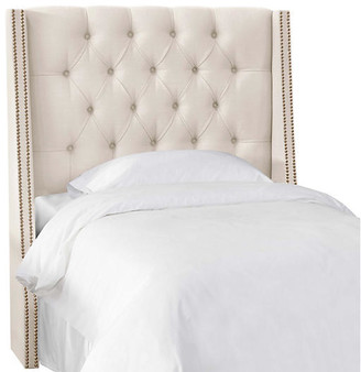 One Kings Lane Sophia Kids' Headboard - Talc - Twin