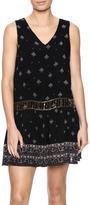 En Creme Beaded Gypsy Dress