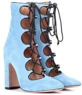 Valentino Garavani suede ankle boots