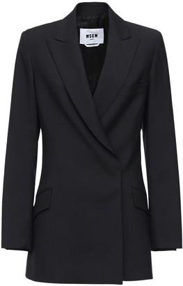 MSGM Cool Wool Jacket