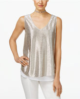 INC International Concepts Metallic Layered-Look Tank Top, Only at Macy's
