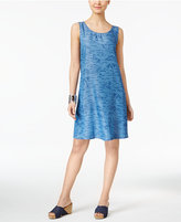 Style&Co. Style & Co Printed Denim Shift Dress, Created for Macy's