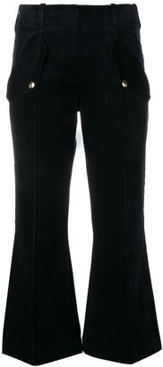 Acne Studios Flared Leg Trousers