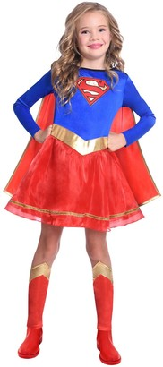 Dc Super Hero Girls Childrens Supergirl Costume