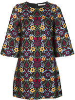 Alice + Olivia Alice+Olivia floral embroidered shift dress
